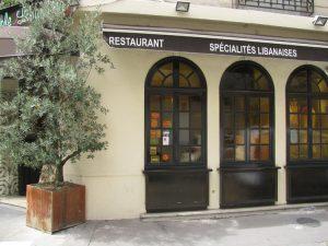 Restaurant de spécialités libanaises